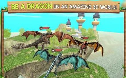 Dragon Sim Online: Be A Dragon 6.1 Apk + Mod (Money/Unlocked)